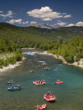 Rafting on Kopru Cayi Photographic Print by Izzet Keribar