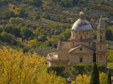 Chiesa Di San Biago Seen from Montepulciano Fotodruck von Glenn Van Der Knijff