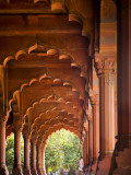 Diwani Am or Hall of Public Audience in the Red Fort Photographic Print by Huw Jones