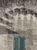 Arch with Shadows and Green Shutters Photographic Print by David Borland