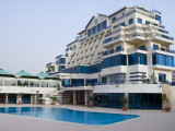 Sheraton Ma&#39;Aret Sednaya Hotel and Resort Photographic Print by Holger Leue