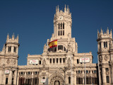 Madrid City Hall Photographic Print by Bruce Bi