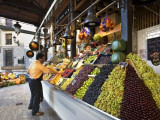 Fruit Stall at San Miguel Market Photographic Print by Diego Lezama