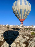 Hot-Air Ballooning Near Uchisar Photographic Print by Dallas Stribley