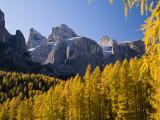 Peaks of Gruppo Del Sella Range, Seen from Near Corvara Fotodruck von Glenn Van Der Knijff