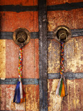 Door at Tikse Monastery Photographic Print by Dennis Walton