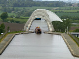 Falkirk Wheel Canal Boatlift Photographic Print by Doug McKinlay