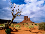 Monument Valley Fotodruck von Douglas Steakley