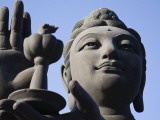 Tian Tan Buddha Statue Photographic Print by Jane Sweeney