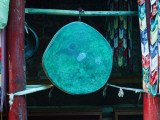 Drum at Matho Monastery Photographic Print by Dennis Walton