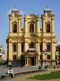 Baroque Roman Catholic Cathedral of St George on Piata Unirii Photographic Print by Jonathan Smith