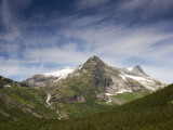 Mountain Peaks from Trollstigen in Summer Photographic Print by Christer Fredriksson
