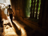 Young Boy Inside Ruins, Beng Mealea Photographic Print by Felix Hug
