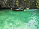 Boats with Tourist Going to Phi-Phi Island Photographic Print by Christian Aslund