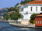 Yali (Villa) on the Bosphorus Near Istanbul Photographic Print by Jean-pierre Lescourret