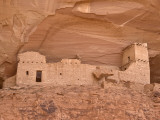 Canyon Del Muerto, Mummy Cave Ruin Fotografisk tryk af John Elk III
