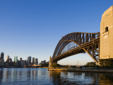 Sydney Harbour Bridge from Milson's Point Fotografisk tryk af Greg Elms