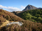Quinag Mountain in Remote Highlands of Sutherland Photographic Print by Feargus Cooney