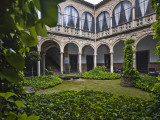 Courtyard Inside Palacio Del Marques De La Rambla Photographic Print by Diego Lezama