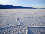 Encrusted Salt Flats at Badwater Basin Photographic Print by Feargus Cooney