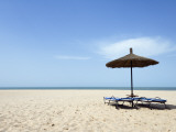Beach in Palmarin, Near Luxury Hotel Royal Lodge Photographic Print by Christian Aslund