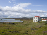 Lake Myvatn Hotel Photographic Print by Holger Leue