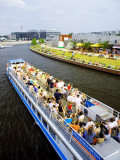 Cruise on River Spree Photographic Print by David Peevers