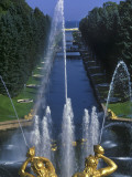 Peterhof Palace Photographic Print by Jean-pierre Lescourret