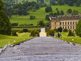 Looking Down the Elaborate Fountain at Chatsworth House Photographic Print by Glenn Beanland