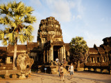 West Gate of Angkor Wat Temple Photographic Print by Dan Herrick