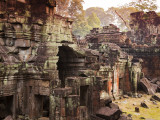 Temple Ruin at Preah Khan Photographic Print by Christer Fredriksson