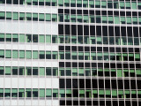 Pattern of High-Rise Office Windows, Lower Manhattan Photographic Print by Michelle Bennett