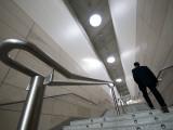 Staircase in the Palacio De Congresos, Av Cortes Valencianas 60 Photographic Print by Krzysztof Dydynski