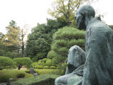 Philosopher Statue in Maruyama-Koen Photographic Print by Gerard Walker