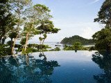 Pool at Luxury Pimalai Resort and Spa Photographic Print by Christian Aslund