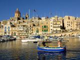 Harbour at Vittoriosa Photographic Print by Jean-pierre Lescourret