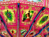 Inside Ceiling Detail of Carousel Photographic Print by David Ryan