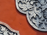 Floral Relief Detail from the Beijing Art Museum, Housed in the Wanshou Temple Photographic Print by Jinghui Cai