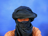 Portrait of Man of the Tuareg Tribe Lmina fotogrfica por Frans Lemmens