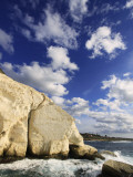 White Cliffs at Rosh Hanikra Photographic Print by Hanan Isachar