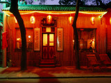 China One Tea House and Bar at Houhai Lake Fotografisk tryk af Greg Elms
