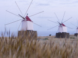 Portela Windmills at Dusk Photographic Print by Holger Leue