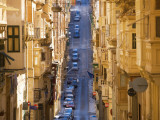 Street in Valletta Photographic Print by Jean-pierre Lescourret