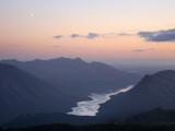 Moon over Loch Etive Fotografisk tryk af Feargus Cooney