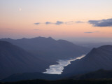 Moon over Loch Etive Fotodruck von Feargus Cooney