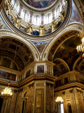 Interior of Saint Isaac's Cathedral Photographic Print by Manfred Hofer