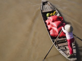 Phong Dien Floating Market, Near Can Tho, Mekong Delta Photographic Print by Kimberley Coole
