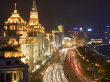 Grand Colonial Facades Line the Bund, Beside Huangpu River Photographic Print by Greg Elms