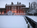 Ranger's House in Snow, Greenwich Park Photographic Print by Doug McKinlay