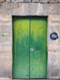 Green Door Photographic Print by Holger Leue